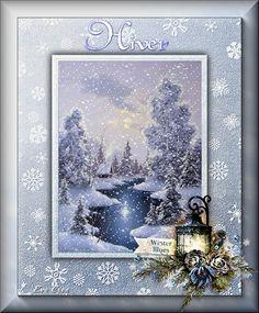 Bel hiver - Hiver et Fêtes chez Evy