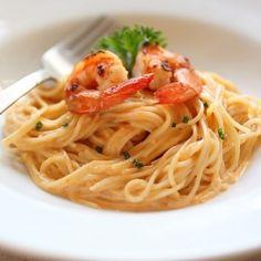 Uni pasta or sea urchin pasta. {recipe}