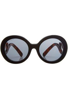 e3e6209f17c Sonnenbrille mit geschwungenen Bügeln