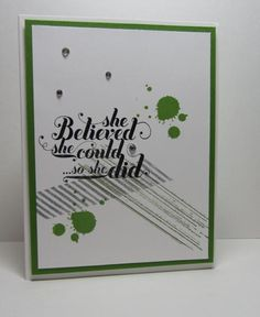 CC445 Believe by nancy littrell - Cards and Paper Crafts at Splitcoaststampers