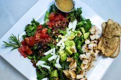 Come try the salads at the Brasserie at Renaissance Market! Menu Items, Cobb Salad, Wines, Renaissance, Salads, Lunch, Recipes, Food, Meal