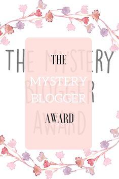 The Mystery Blogger Award - Tralisty