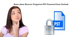 Know about recover #forgotten #PST password from Outlook Details are available here: http://pstpassword.jigsy.com