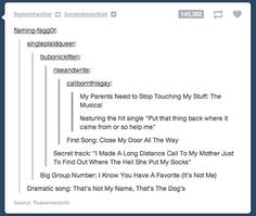 """Also the new track: """"I'll mix my kid's names since I don't remember who is who"""""""