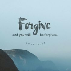 Forgiveness is for your good!  bible.com  oneamongmany.org