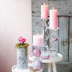 Breng een romantische kerstsfeer in huis met zachte en warme kleuren # ...