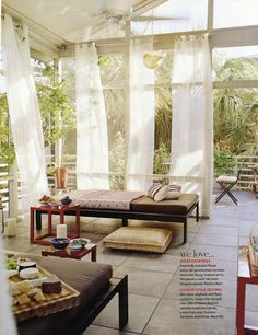 Amazing outdoor space!  Maryisa's home - Folly Beach, Charleston #outdoorspaces #porches #patios #backyard