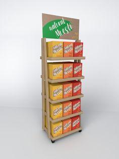 Food floor display Magazine Rack, Display, Flooring, Storage, Furniture, Food, Home Decor, Floor Space, Purse Storage