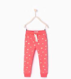 Pantalón estampado estrellas-Faldas y pantalones-Niña   4-14 años-COLECCIÓN SS16   ZARA España