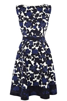 Shadow Floral Prom Dress | Multi | Oasis Stores