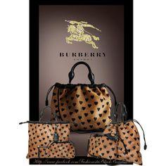 """Burberry Handbags 2013"" by karen-foster-stewart on Polyvore"