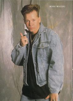 donnie Wahlberg - NKOTB those were the days!