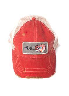Judith March Tennessee Guitar Hat (Red) – DejaVu