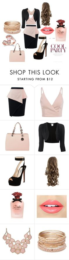 """,...."" by nizama-bojic-husejnbasic ❤ liked on Polyvore featuring MICHAEL Michael Kors, Oscar de la Renta, Prada, Dolce&Gabbana, Fiebiger and Red Camel"