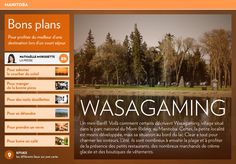 Wasagaming - La Presse+ Destinations, Canada, Pathways, Night, Travel, Travel Destinations, Viajes