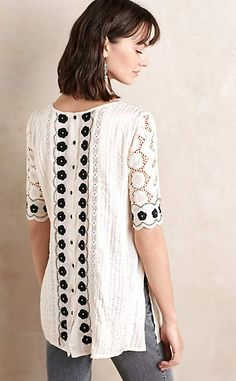 Veille Peasant Top #anthrofave