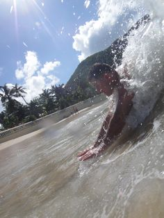 Body Surfing St. Maarten