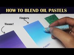 In this video, I show you four ways to blend oil pastels. These blending techniques make your art more polished and professi. Oil Pastel Colours, Soft Pastel Art, Pastel Artwork, Oil Pastel Paintings, Oil Pastel Drawings, Easy Canvas Painting, Painting Tips, Painting Videos, How To Use Pastels