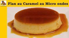 flan au caramel au micro ondes - recette rapide et facile - YouTube Dessert Micro Onde, Dessert Sans Four, Flan Au Caramel, Microwave Recipes, Food To Make, Cheesecake, Pudding, Grand Bol, Pyrex