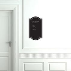 Chalkboard decal - diy out of chalkboard contact paprt (and make larger)