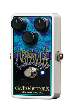 Housed in EHX's rugged nano package, the Octavix features Volume, Boost and Octave knobs. Volume regulates the output level of the pedal. Boost controls the amount of fuzztone and Octave adjusts the v