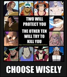 Kuma, no doubt, but torn between Shanks and Sakazuki