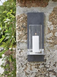 Uber stylish, beautifully designed with a contemporary feel, this outdoor wall sconce will enhance any outdoor space.