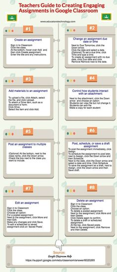 Teachers Guide to Creating Engaging Assignments on Google Classroom via @medkh9  | iGeneration - 21st Century Education (Pedagogy & Digital Innovation) | Scoop.it