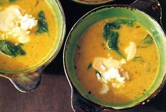Yellow Pea and Coconut Milk Soup Recipe