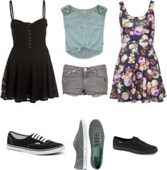 """""""skater girl"""" by mikalataylor ❤ liked on Polyvore"""