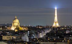 The Eiffel Tower, Paris, France Empire State Building, Paris France, Paris Skyline, Tower, Photography, Travel, Rook, Photograph, Viajes
