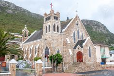 St. James Catholic Church, Cape Town, South Africa More Heart Place, Namibia, Catholic Churches, Cape Town South Africa, Church Architecture, Cathedral Church, Church Building, Mosques, Place Of Worship