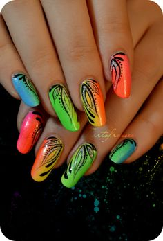 251920172880362578 Miami Beach Nail Design