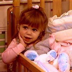 Ashley Olsen as Michelle Tanner age 2  Full House season 2