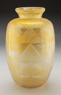 Large Vintage Art Nouveau Acid Etched Cameo Gl Vase. Signed ... on grave vase, faience vase, jar vase, umbrella vase, large silver vase, franco vase, water vase, egg crate vase, obelisk vase, rosette vase, birthday vase, cat vase, ceramic glaze vase, candlestick vase, ewer vase, celtic vase, asian bronze vase, large white vase, lefton china vase, hand shaped vase,
