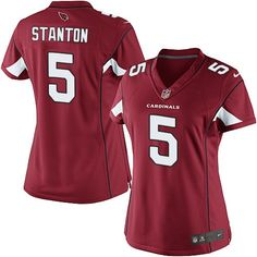 Nike Elite Drew Stanton Red Women s Jersey - Arizona Cardinals  5 NFL Home  Super Bowl a2a642309