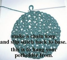 Grandma Potholder Tutorial...   This tutorial will be in two parts... Just to spread out the amount of pictures and to give you a bit of tim...