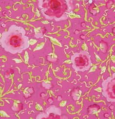 Pretty Little Things Fabric by Dena Designs / SOPHIE in PINK- 1 Yard Cotton Quilt Fashion Fabric