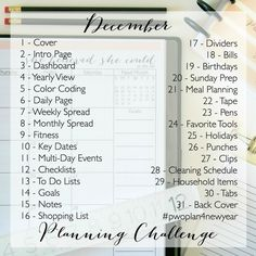 Ready to get started planning This 2015 Planning Challenge will help get you prepared for your most organized year yet! Planner set up Planner Pages, Life Planner, Printable Planner, 2015 Planner, Blog Planner, Planner Ideas, Printables, Planer Organisation, Life Organization