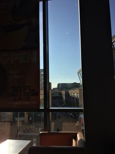 View from a cinema window