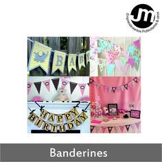 Banderines para Eventos
