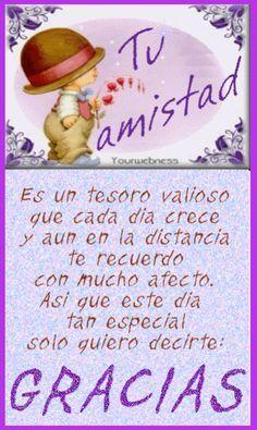 Imagen linda con mensaje para un amigo o amiga - ۞ Imagenes con Frases, Fotos y Carteles de Amistad ۞