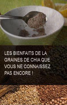 Les bienfaits de la graines de chia que vous ne connaissez pas encore ! #Grain #Chia #Graines #Bienfaits Oatmeal, Grains, Vegetables, Breakfast, Food, Gluten Free Foods, Chia Seeds, Natural Health, Natural Remedies