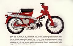 1965 Honda Trail 55 ad