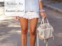 Fashion Fix: Kanten short - My Simply Special