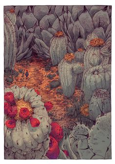 the hunt by Thomke Meyer, on Tumblr  