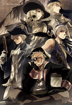 Hetalia ~~ Either Pirates or Hetaween, your choice.