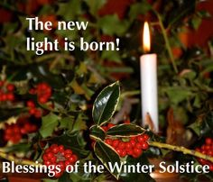 Blessings on the Winter Solstice