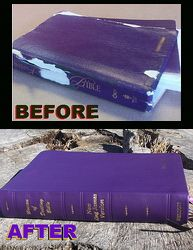 Study Bibles (Bibles rebound by Ace Bookbinding Co. Book Rebinding, Rebounding, Bible, Study, Craft Ideas, Check, Books, Crafts, Biblia