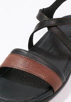 Sandales de marche Keen ROSE CITY - Sandales de randonnée - black/tortoise shell noir: 89,95 € chez Zalando (au 25/04/16). Livraison et retours gratuits et service client gratuit au 0800 740 357.